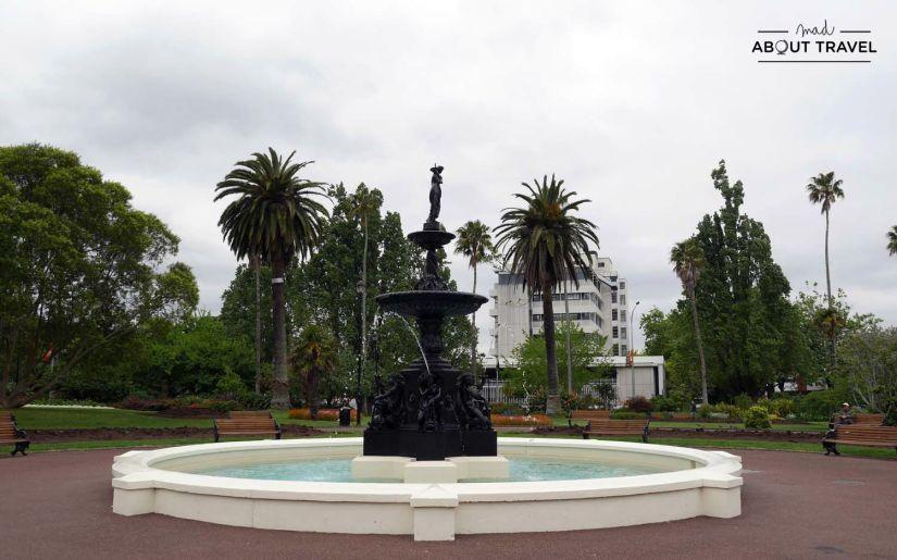 Albert Park en Auckland