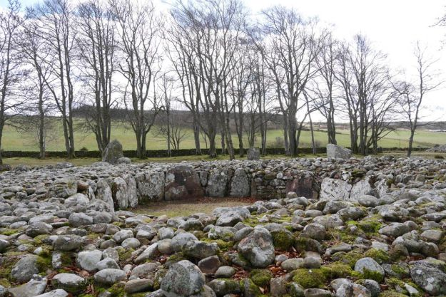 Clava Cairns en Inverness