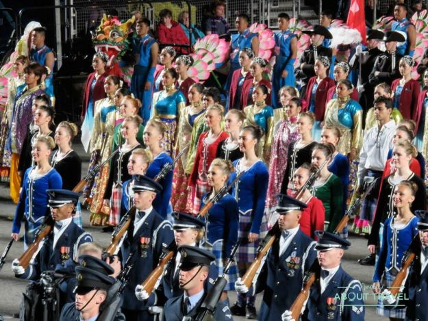 Military Tattoo de Edimburgo