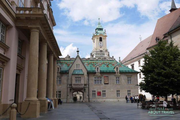 que ver en Bratislava - ayuntamiento viejo de bratislava