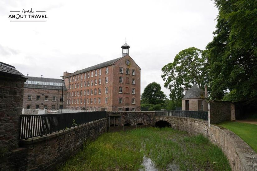 ruta en coche por escocia stanley mills