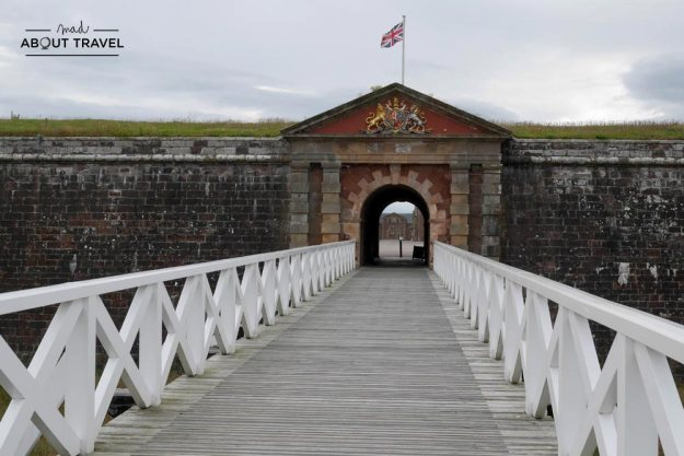 ruta en coche por las highlands - fort george inverness