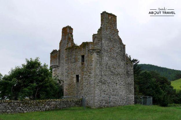 ruta en coche por escocia - castillo de glenbuchat