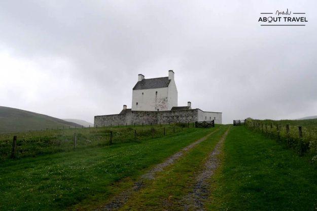 ruta en coche por escocia - castillo de corgarff