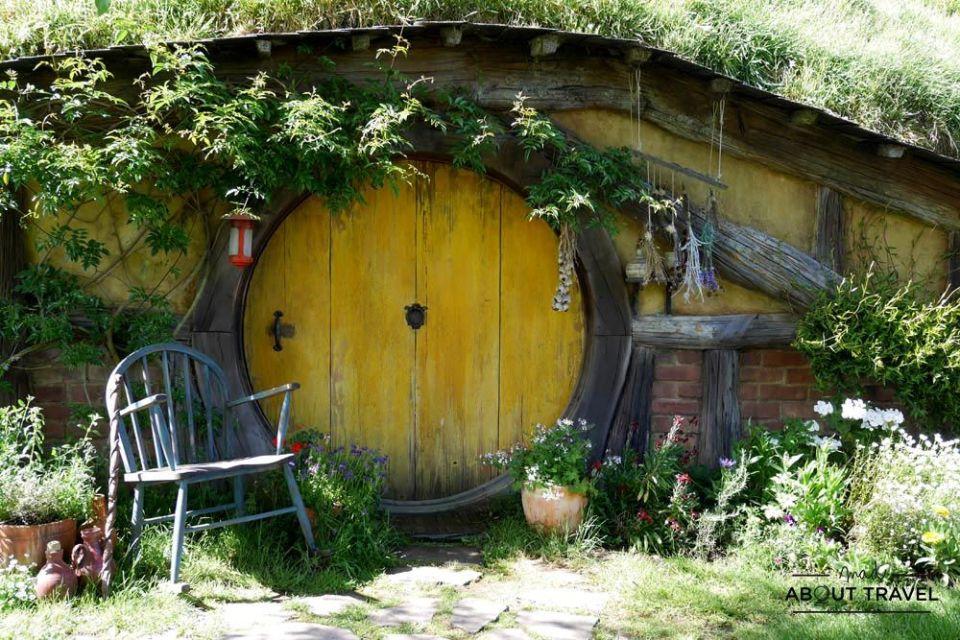 casa de hobbit en hobbiton nueva zelanda