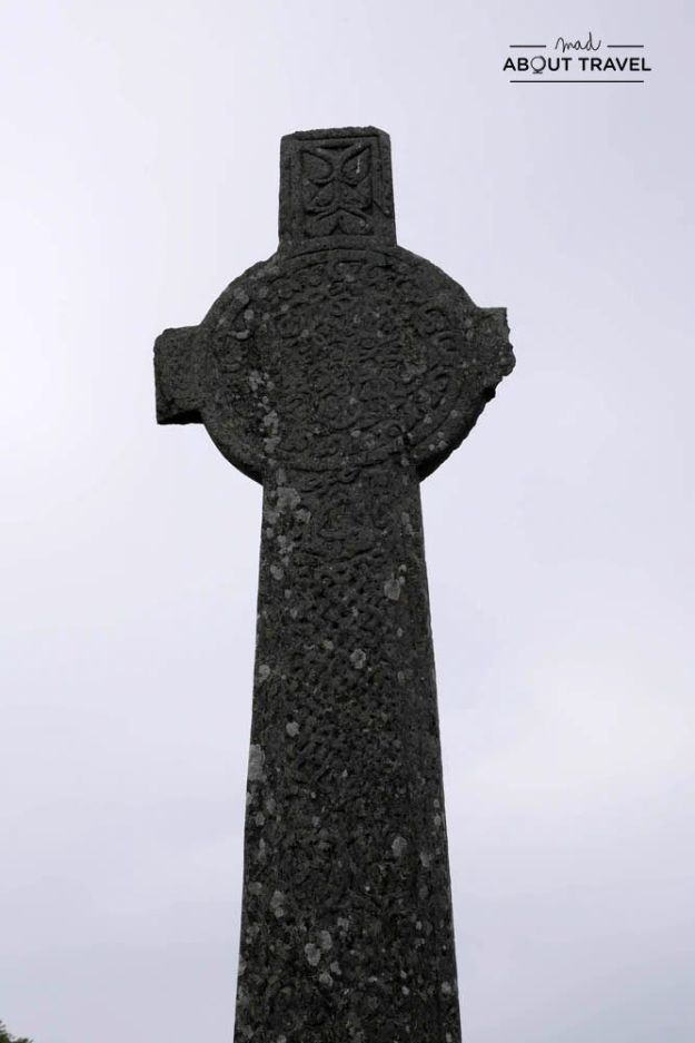 cruz celta maclean en la isla de iona