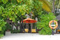 habitacion beachfront pool villa en el angsana velavaru en maldivas