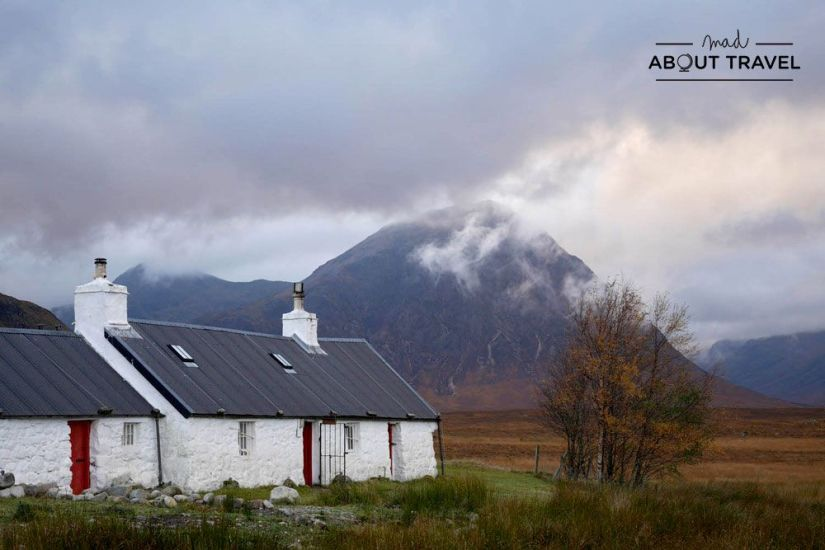 blackrock cottage en glencoe escocia