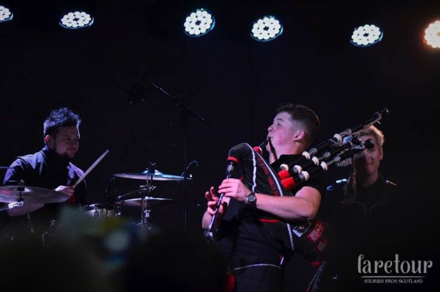 Red Hot Chilli Pipers en el Winter Festival de Perth