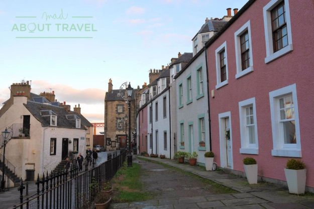 pueblo de South Queensferry, Escocia