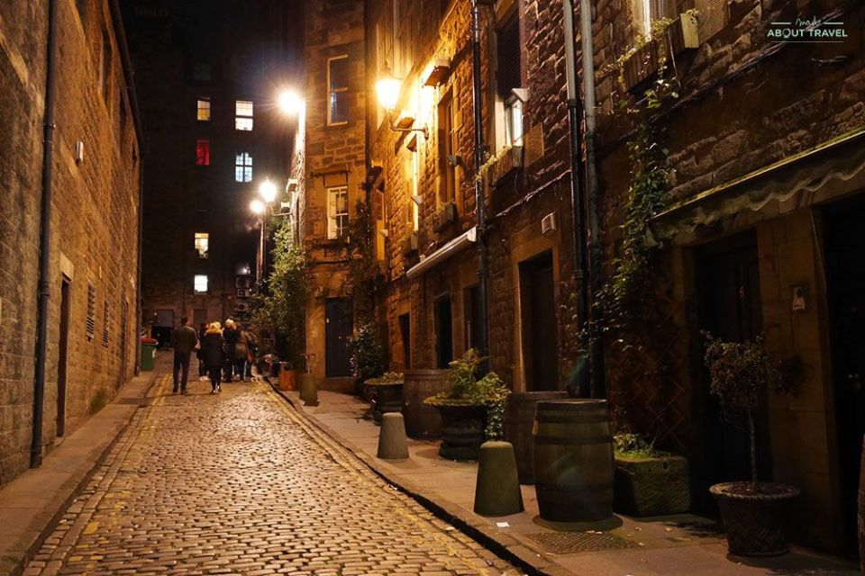 tour de fantasmas en Edimburgo con city of the dead