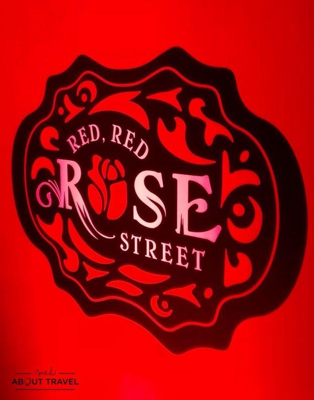 festival de robert burns en edimburgo red red rose street