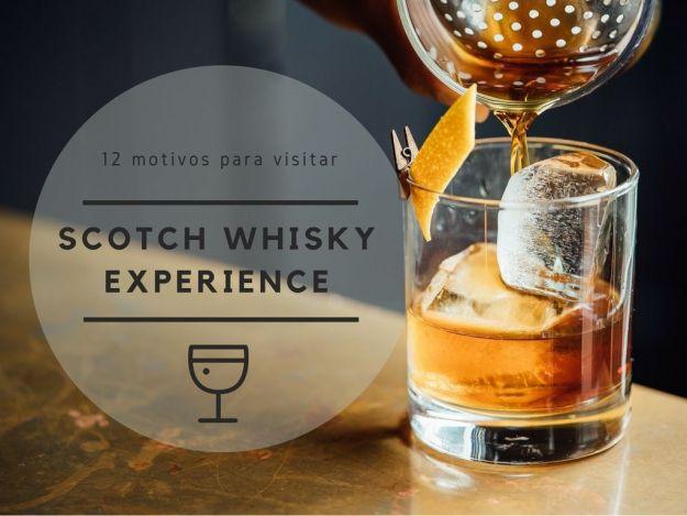 visita a the scotch whisky experience en Edimburgo