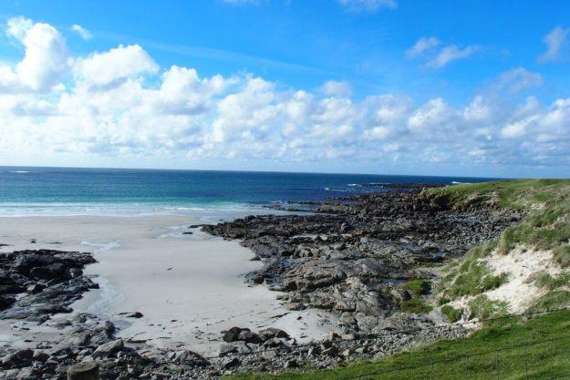 que ver en escocia: isla de barra