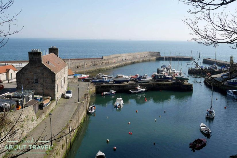 senderismo en escocia fife coastal path puerto de dysart