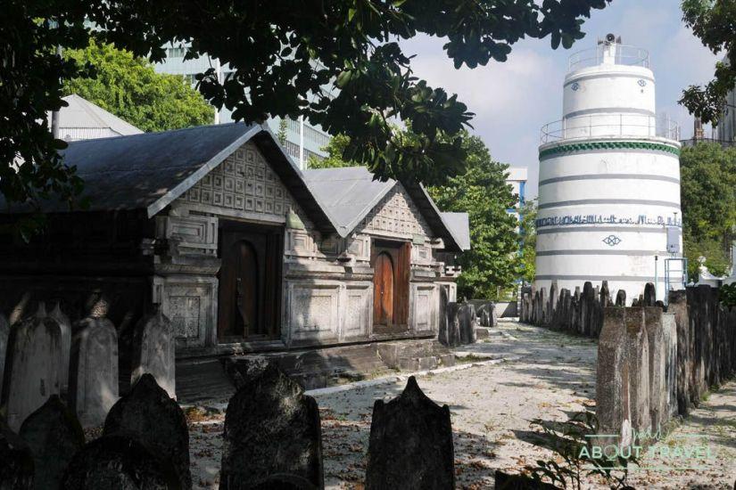 que ver en male: mezquita del viernes