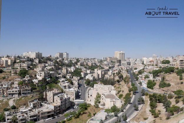 vistas de amman en jordania