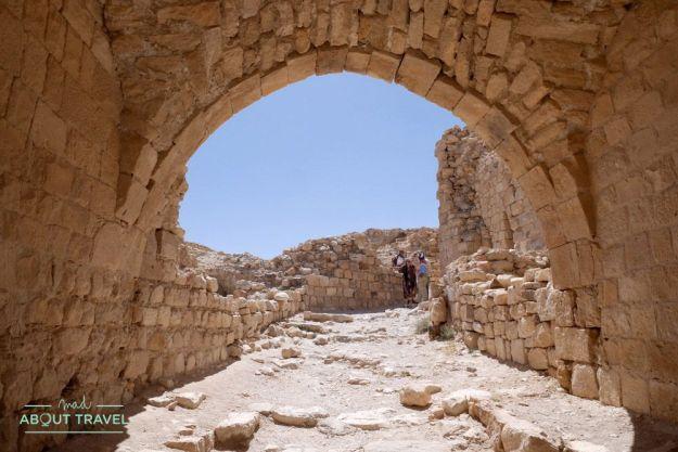 castillo de shobak en jordania
