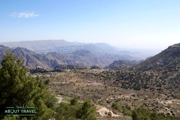 reserva natural de dana en jordania