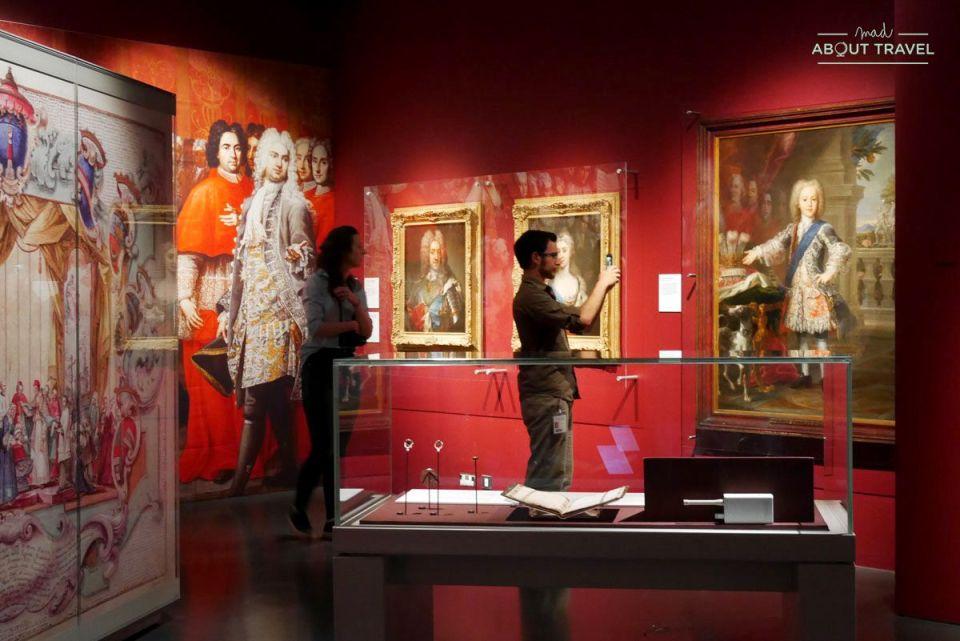 exposición jacobita en el museo nacional de escocia en edimburgo