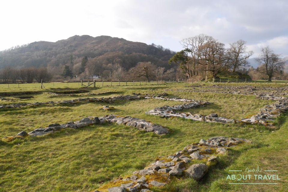 fuerte romano de ambleside, lake district