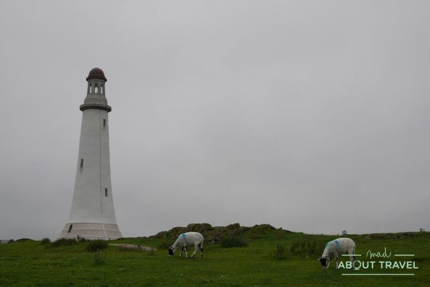 monumento a hoad en ulverston, lake district inglaterra