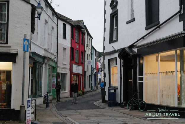 pueblo de ulverston en el lake district, inglaterra