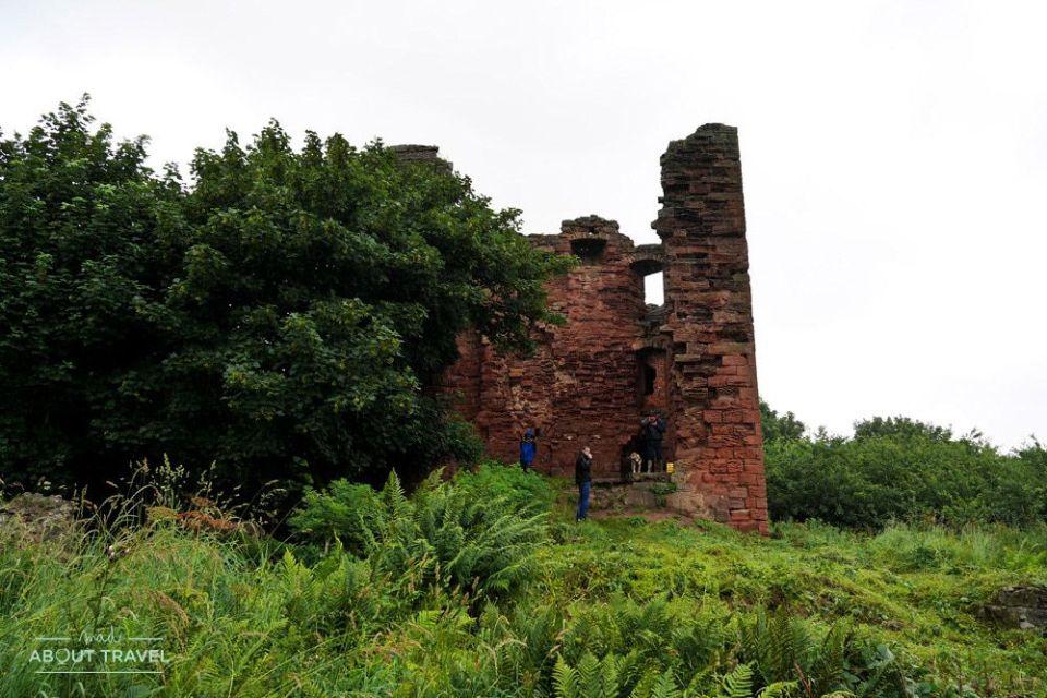 castillo de macduff en east wemyss fife