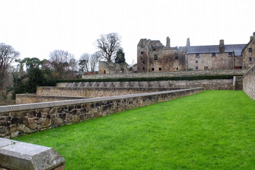 castillo de aberdour, escocia