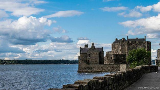 castillo de blackness, escocia