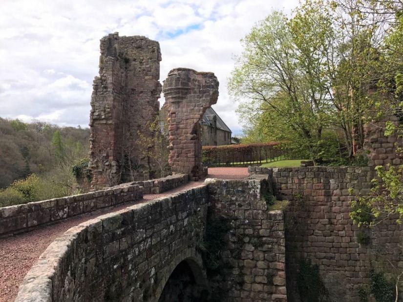 castillo de roslin, escocia