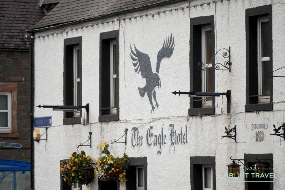 the eagle hotel, lauder, borders de escocia