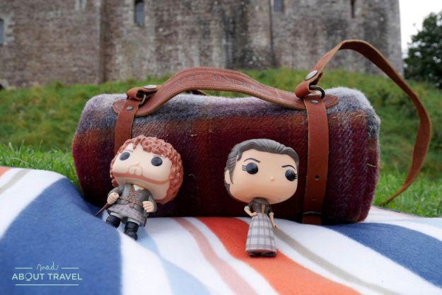 localizaciones del rodaje de outlander en Escocia: castillo de doune
