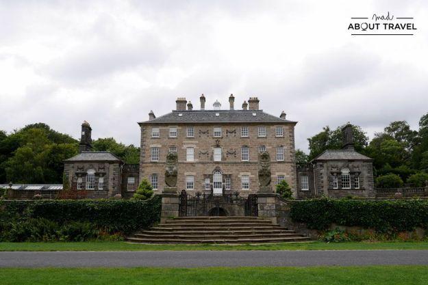 localizaciones del rodaje de outlander en Escocia: pollok country park en glasgow