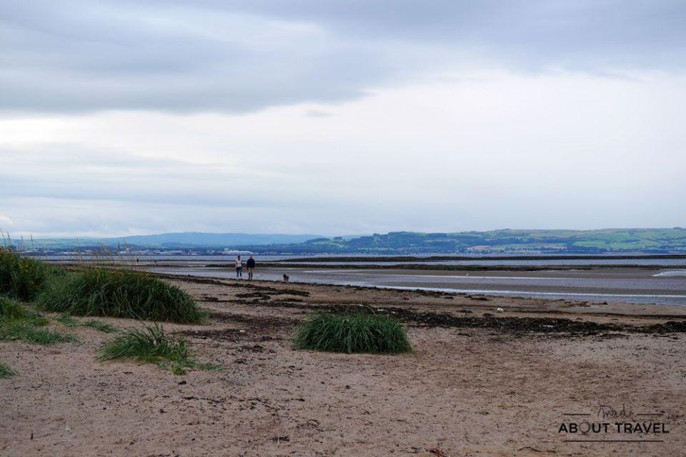 localizaciones del rodaje de outlander en Escocia: playa de troon