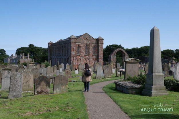 priorato de coldingham, tierras bajas de Escocia