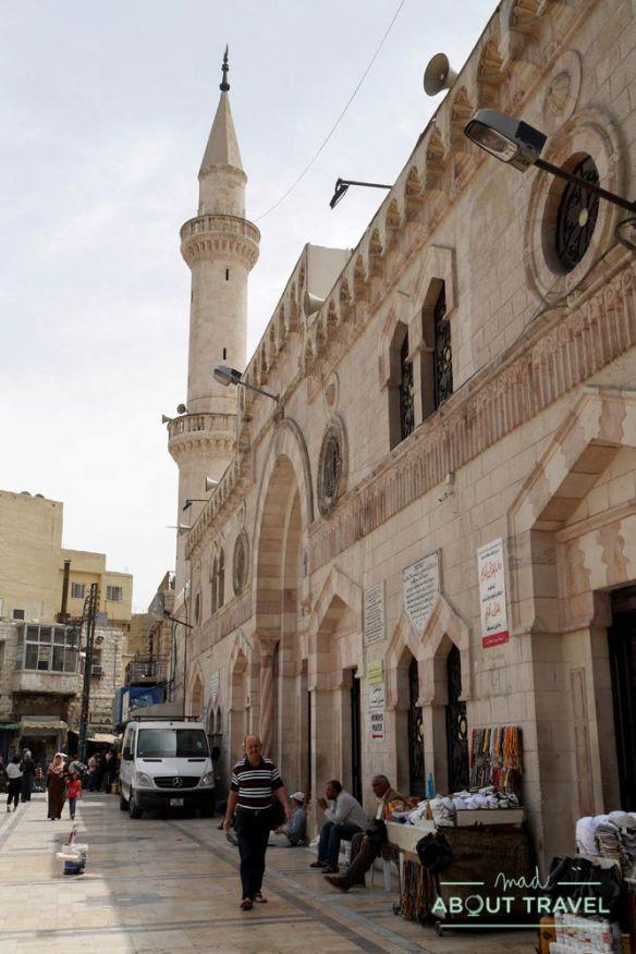 que ver en ammán: mezquita al husseini