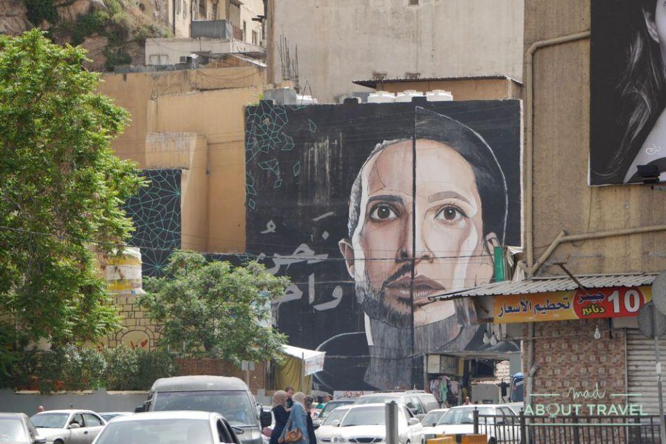 que ver en amman: arte urbano
