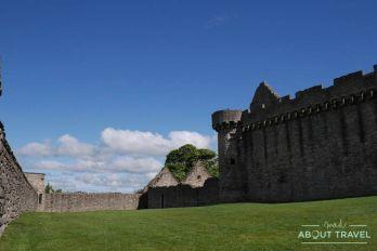 ruta outlander edimburgo: castillo de craigmillar