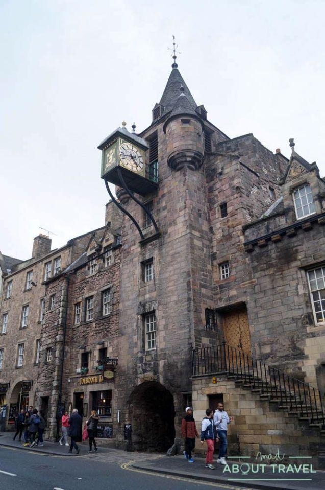 ruta outlander Edimburgo: canongate