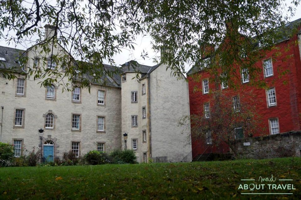 ruta outlander Edimburgo: chessels court