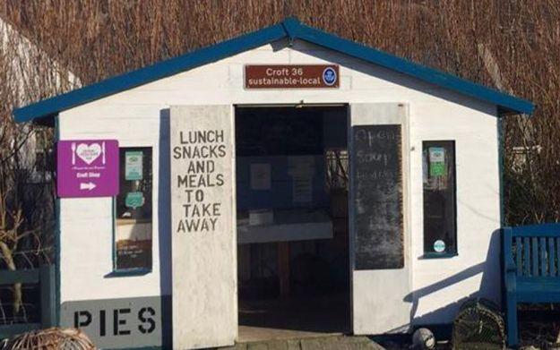 donde comer en la isla de Harris: croft 36