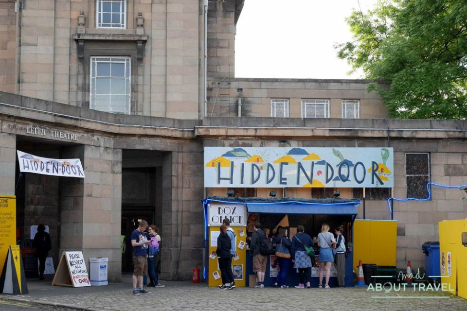 que hacer en edimburgo gratis: festival hidden door