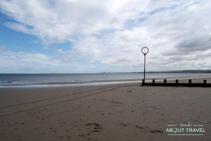 que hacer en edimburgo gratis: playa portobello