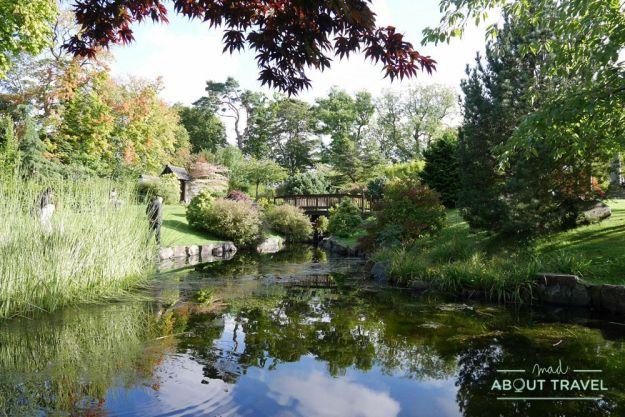 que ver en edimburgo gratis: castillo de lauriston y jardín japonés