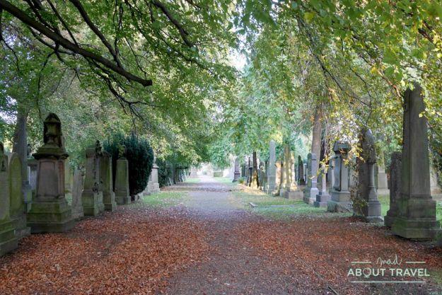 que ver en edimburgo gratis: cementerio dean