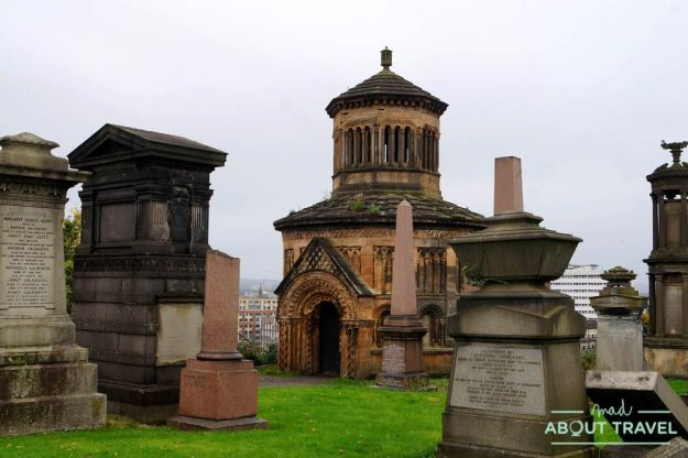 guía del east end de glasgow: necrópolis de glasgow