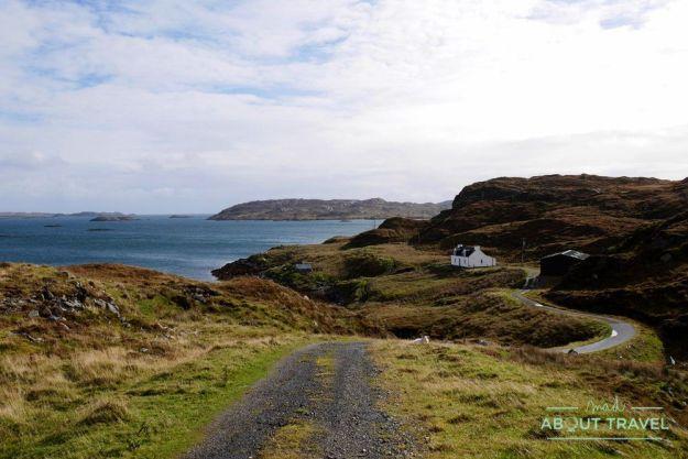 ruta en coche por la isla de lewis y harris
