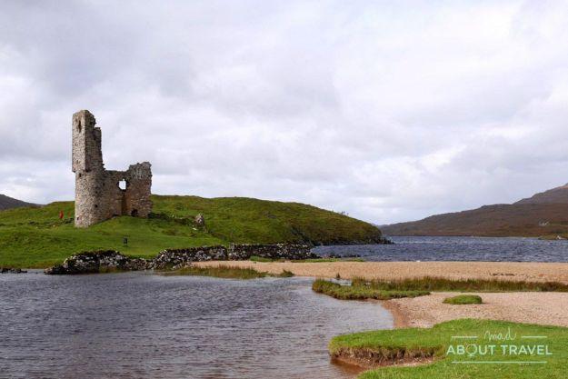Castillo de Ardvreck - Ruta North Coast 500 Escocia