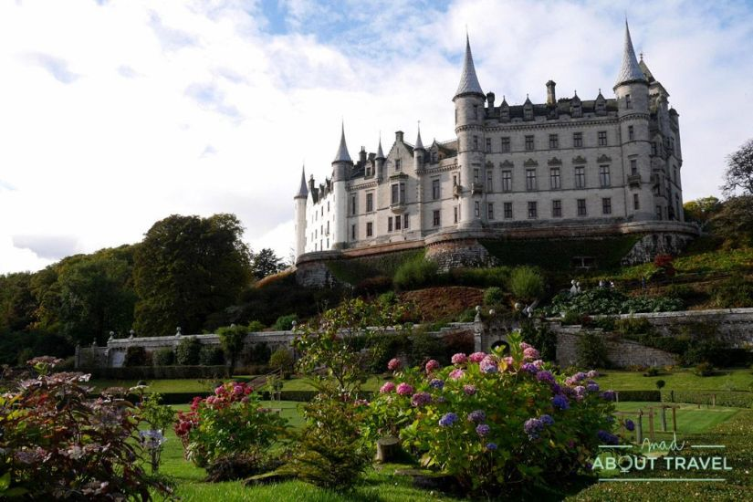 Castillo de Dunrobin - Ruta North Coast 500 Escocia